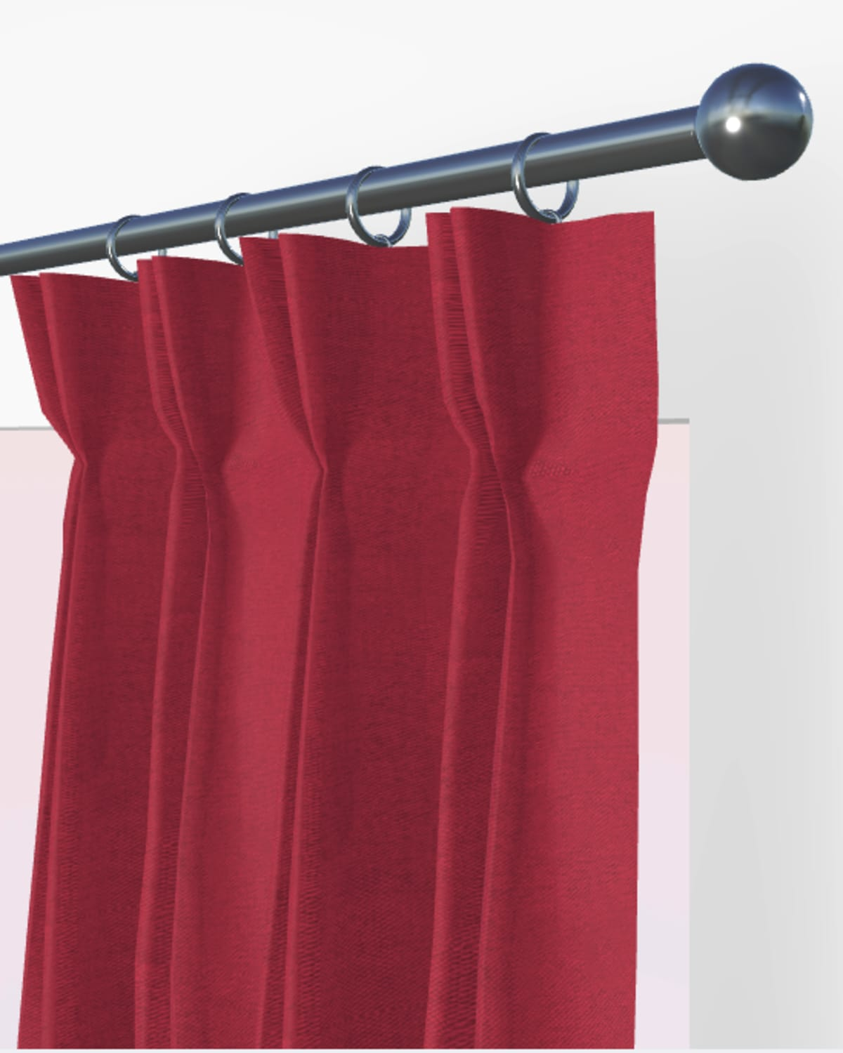 red made to measure blinds