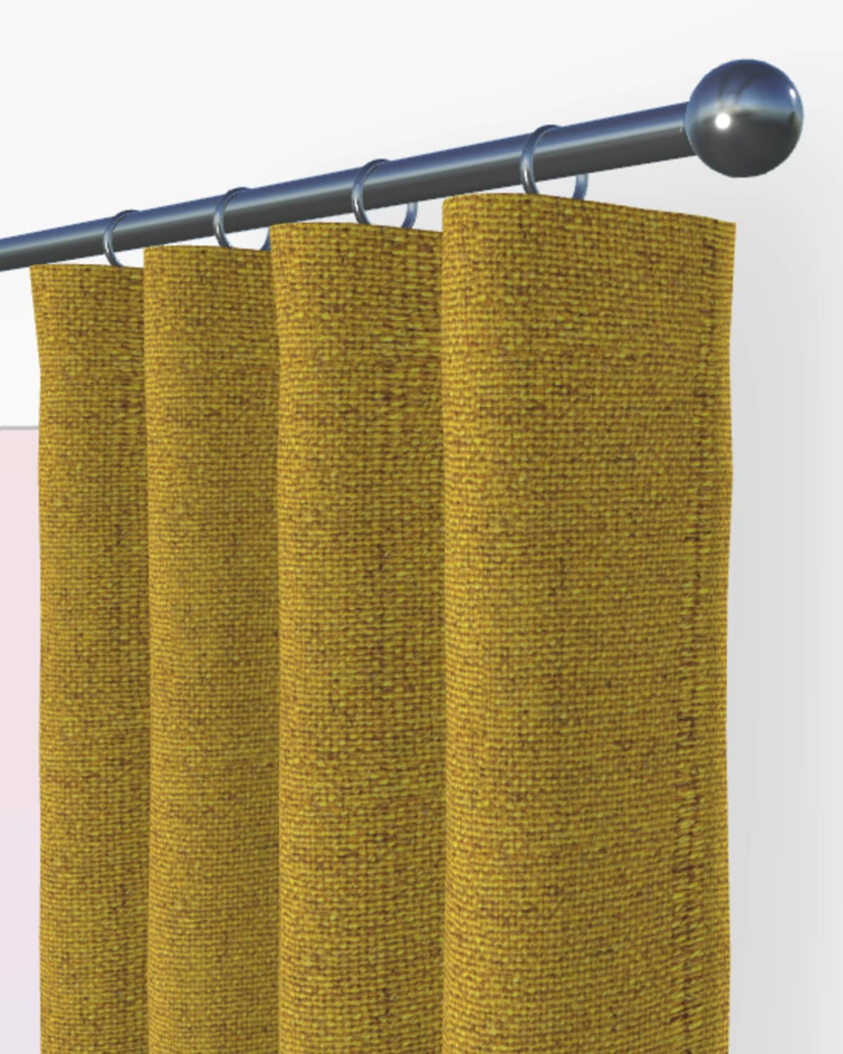 yellow made to measure blinds