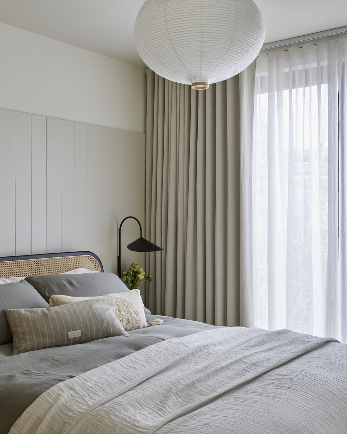 Stitched Sheer Curtains