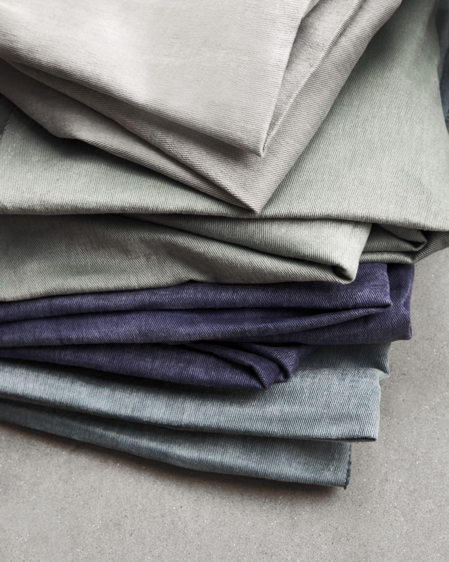 various cotton textiles