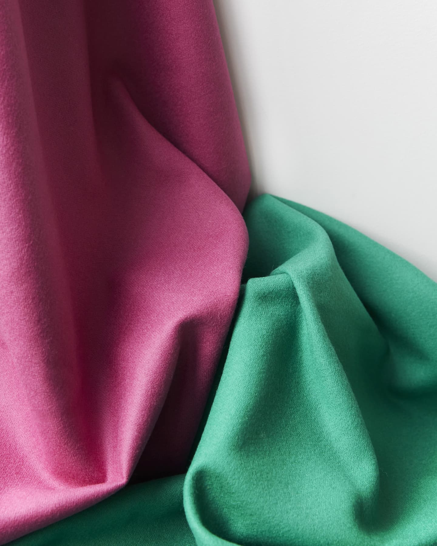close up of Wool fabric