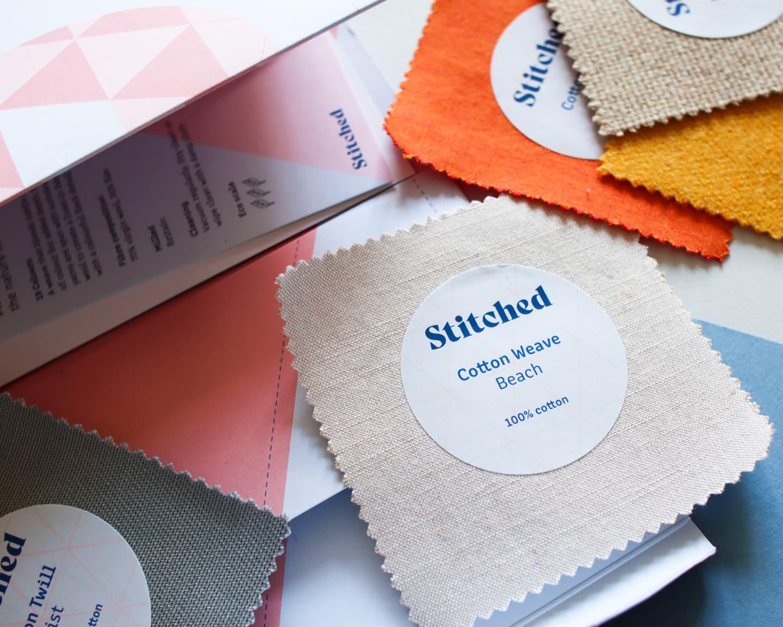 cotton textile sample pack