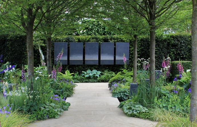 Display at Chelsea flower show
