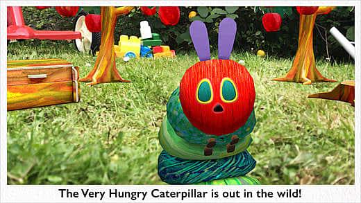 Caterpillar to life