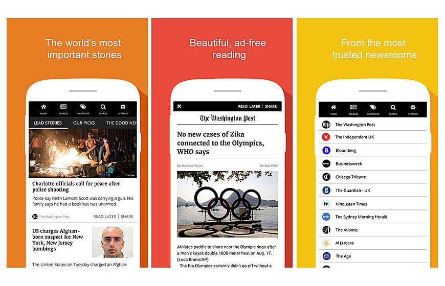 INKL news mobile application