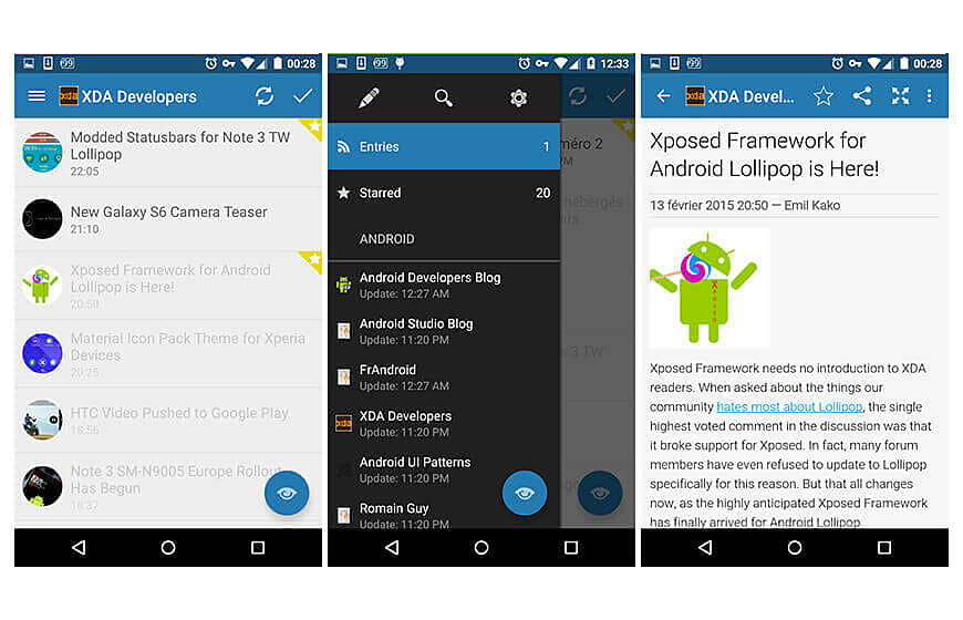 Flym News Apps