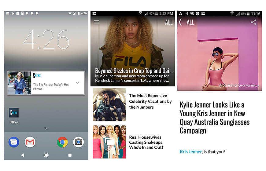 E News Apps
