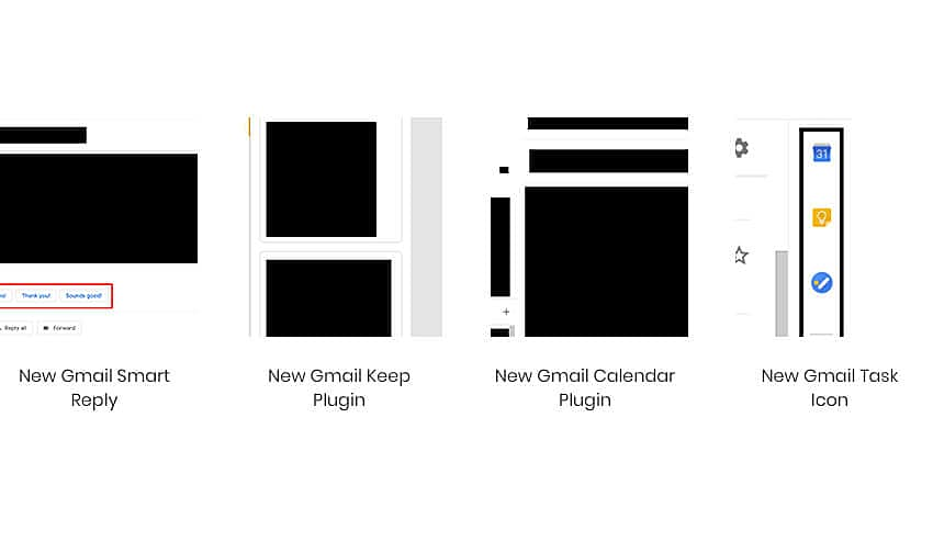 New gmail Design google