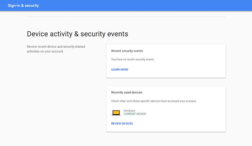 device & security