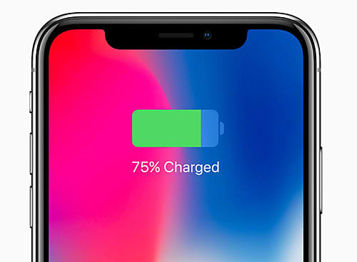 iphone charged