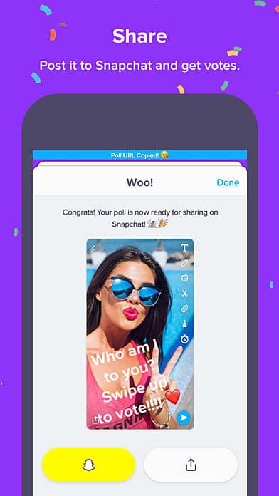 Polly App Screen