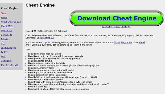 cheat engine hack app