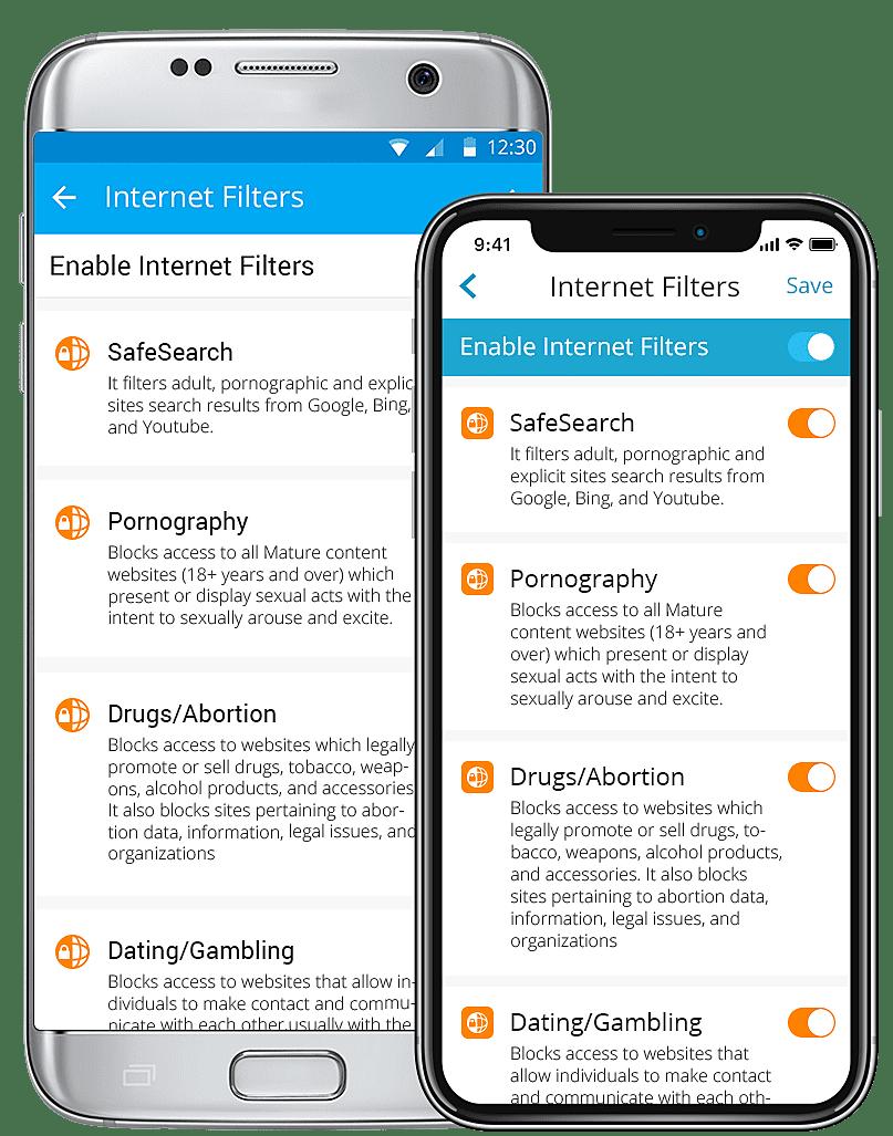 FamilyTime Internet Filter