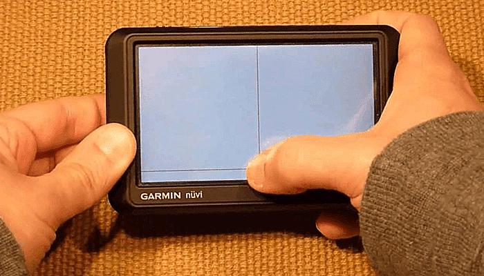 if touchscreen is not calibrated?