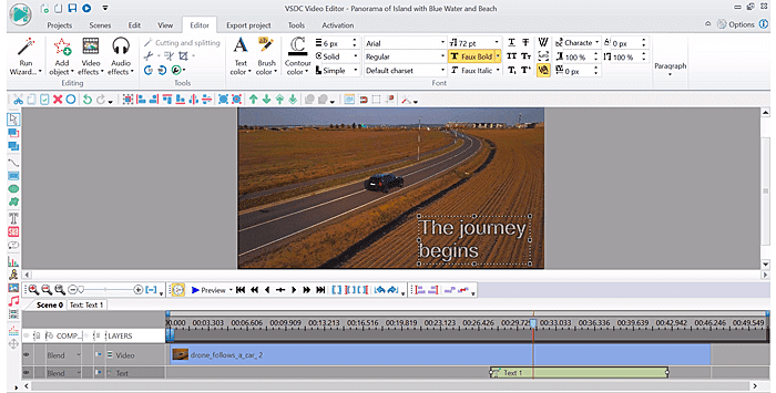 VSDC Free Video Editor for Windows