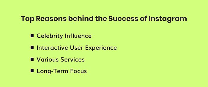 Reasons Behind Instagram's Success