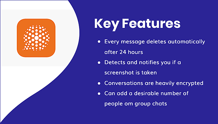 Dust - a safer place to text