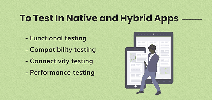 To Test In Native and Hybrid Apps