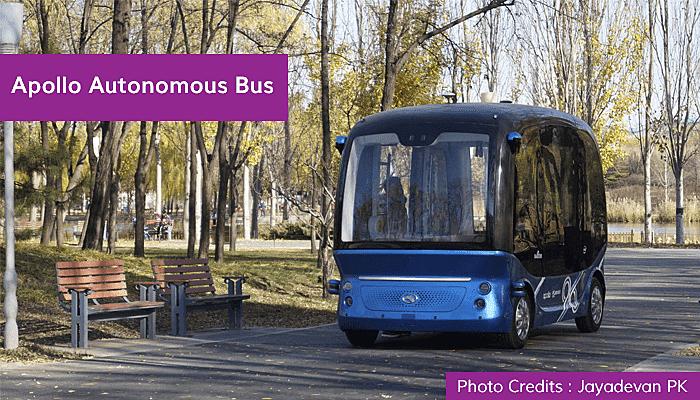 Apollo Autonomous Bus