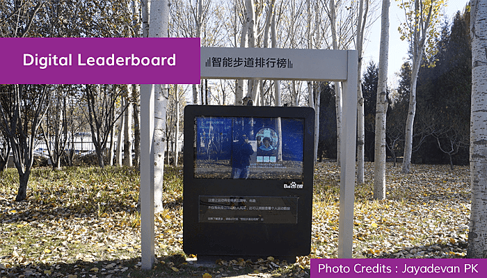 Digital Leaderboard