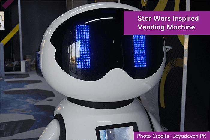 . Star Wars Inspired Vending Machine