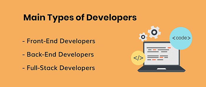 Main Types of Developers