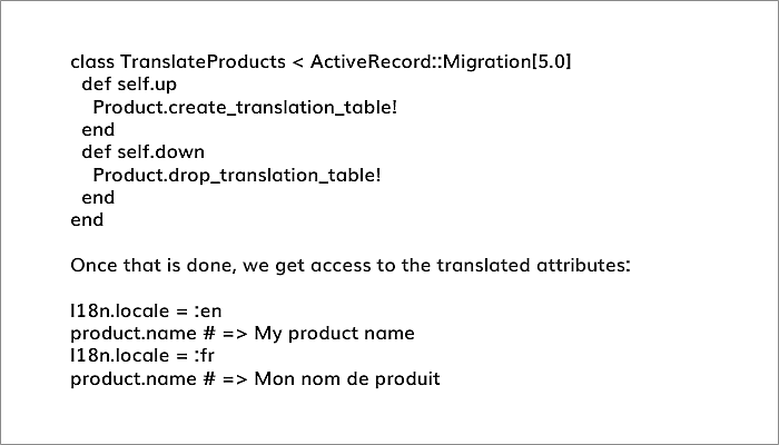 migration to TranslateProducts
