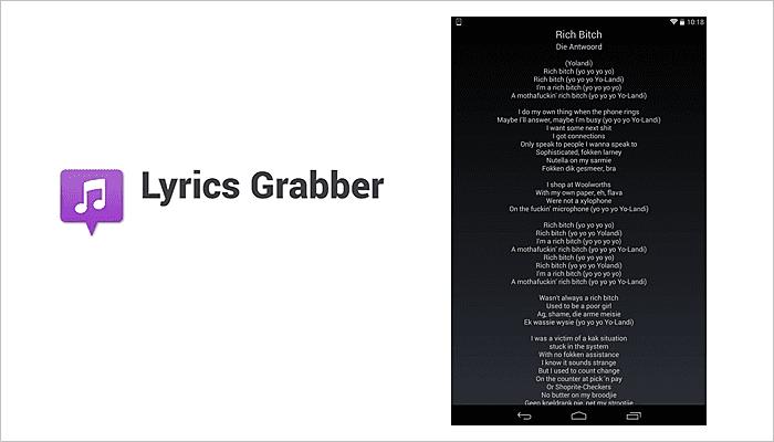 Lyrics Grabber