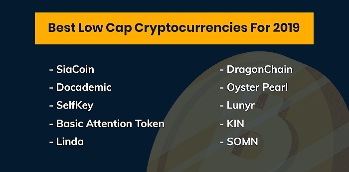 Low Cap Cryptocurrencies