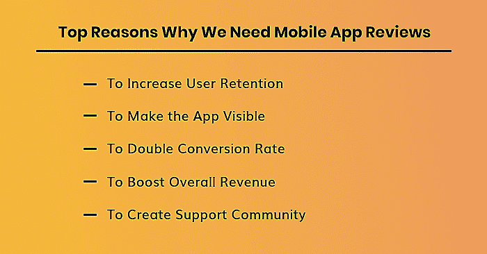 Mobile App Review importance