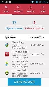Clean Malware