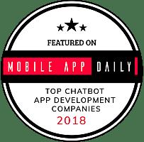Top Chatbot App Development Companies