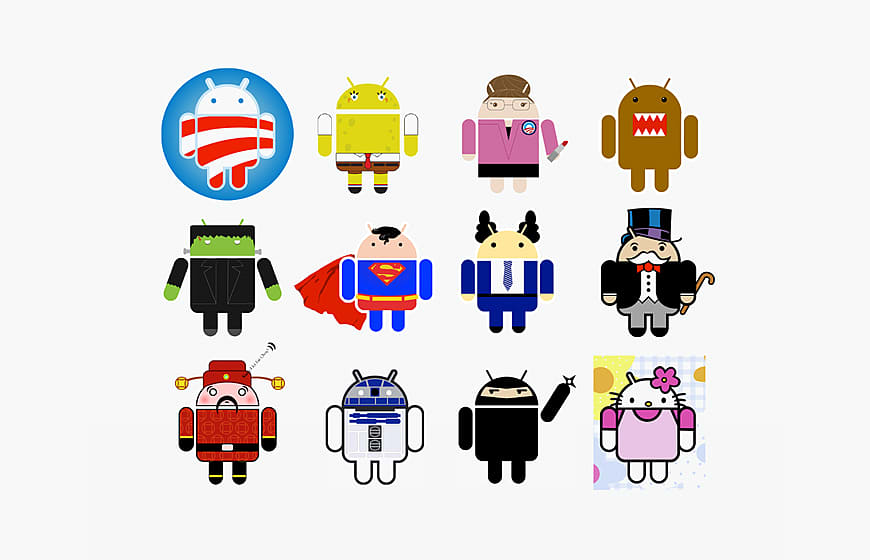 Who Design Android Logo