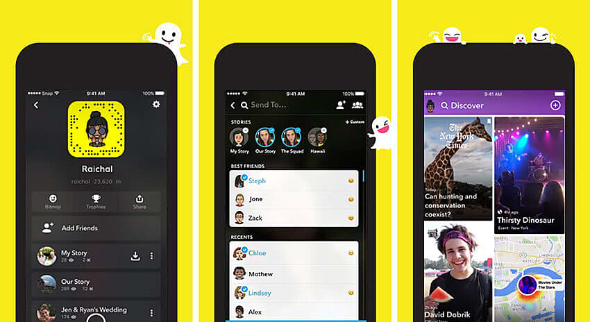 Snapchat Latest change