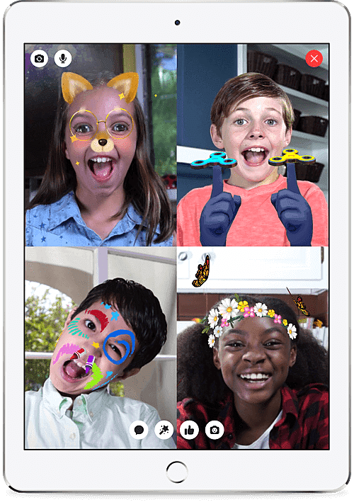 Facebook new kids App