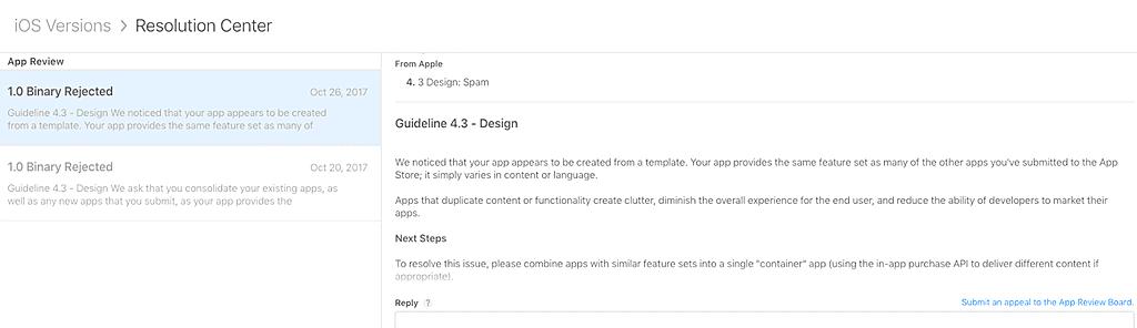 Apple new Guideline