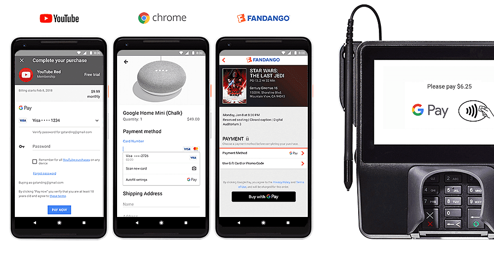 Google Pay launched