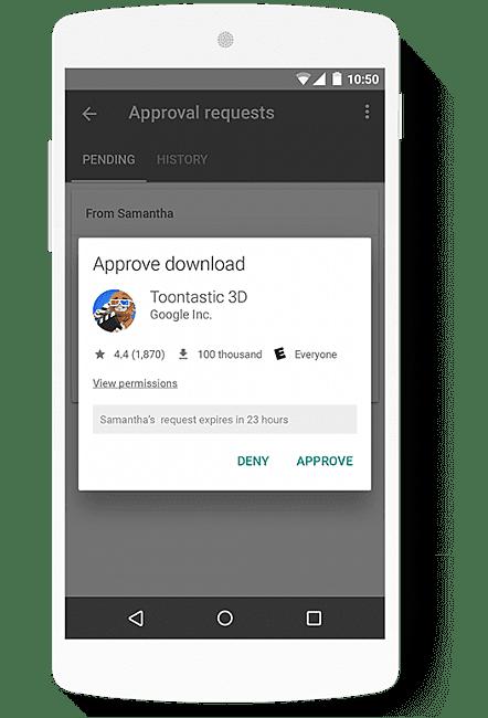 Family Link Mobile App