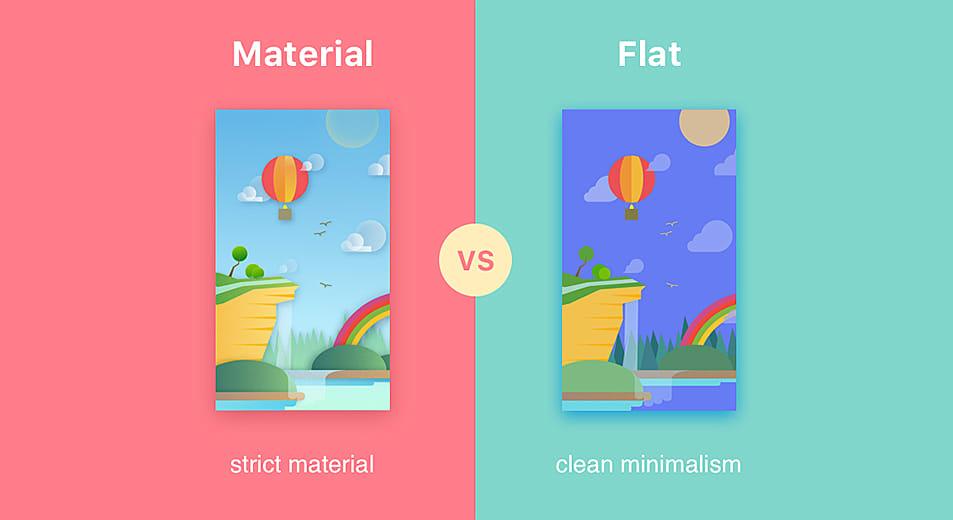 Material Design Over Flat Design