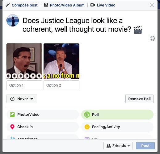 Facebook's Gif