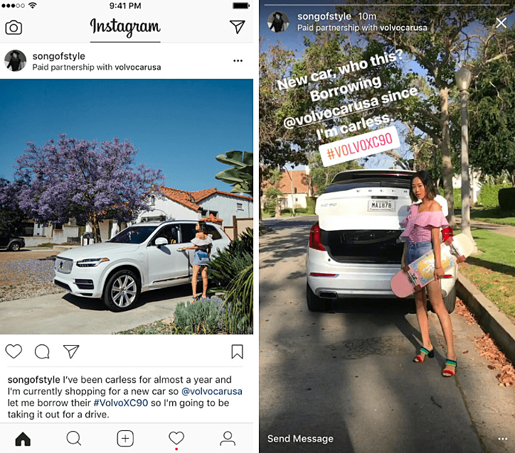 Instagram Paid Partnership