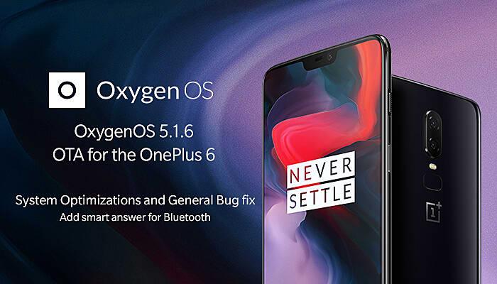 oxygen OnePlus 6