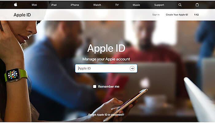 Apple ID Login