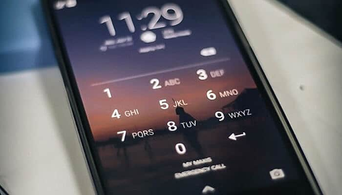 Lock your Phone