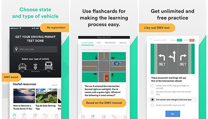 Driver Start App