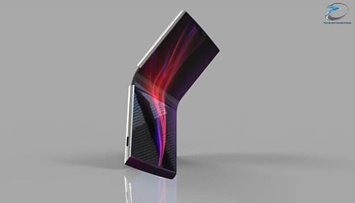 sony foldable phone