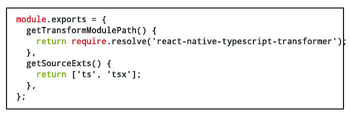 module typescript