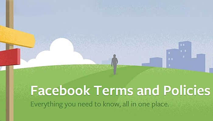 facebook terms and policies