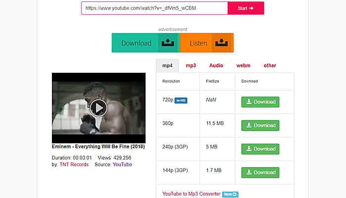 y2mate downloader