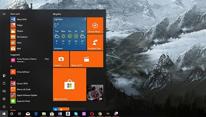 windows comparison